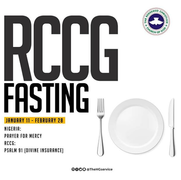 RCCG Fasting Prayer Points for 28 February 2019 – Day 49: Thanksgiving and Testimonies