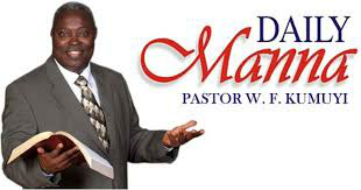 David's Hall Of Fame DCLM Daily Manna 8 August 2019 Daily Devotional by Pastor William Folorunso Kumuyi