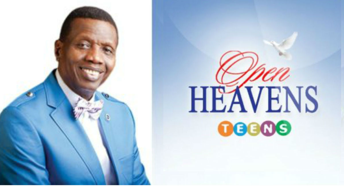 Obedience Guarantees Security Open Heavens for Teens 27 May 2020